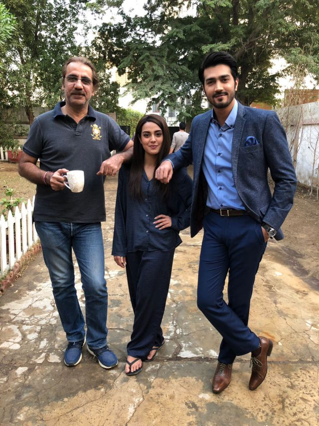 Aehsun Talish, Iqra Aziz and Shahzad Shaikh