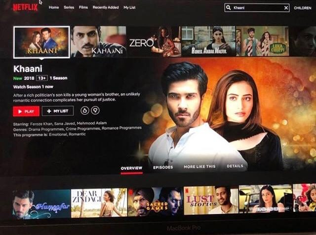 Khaani goes live on Netflix